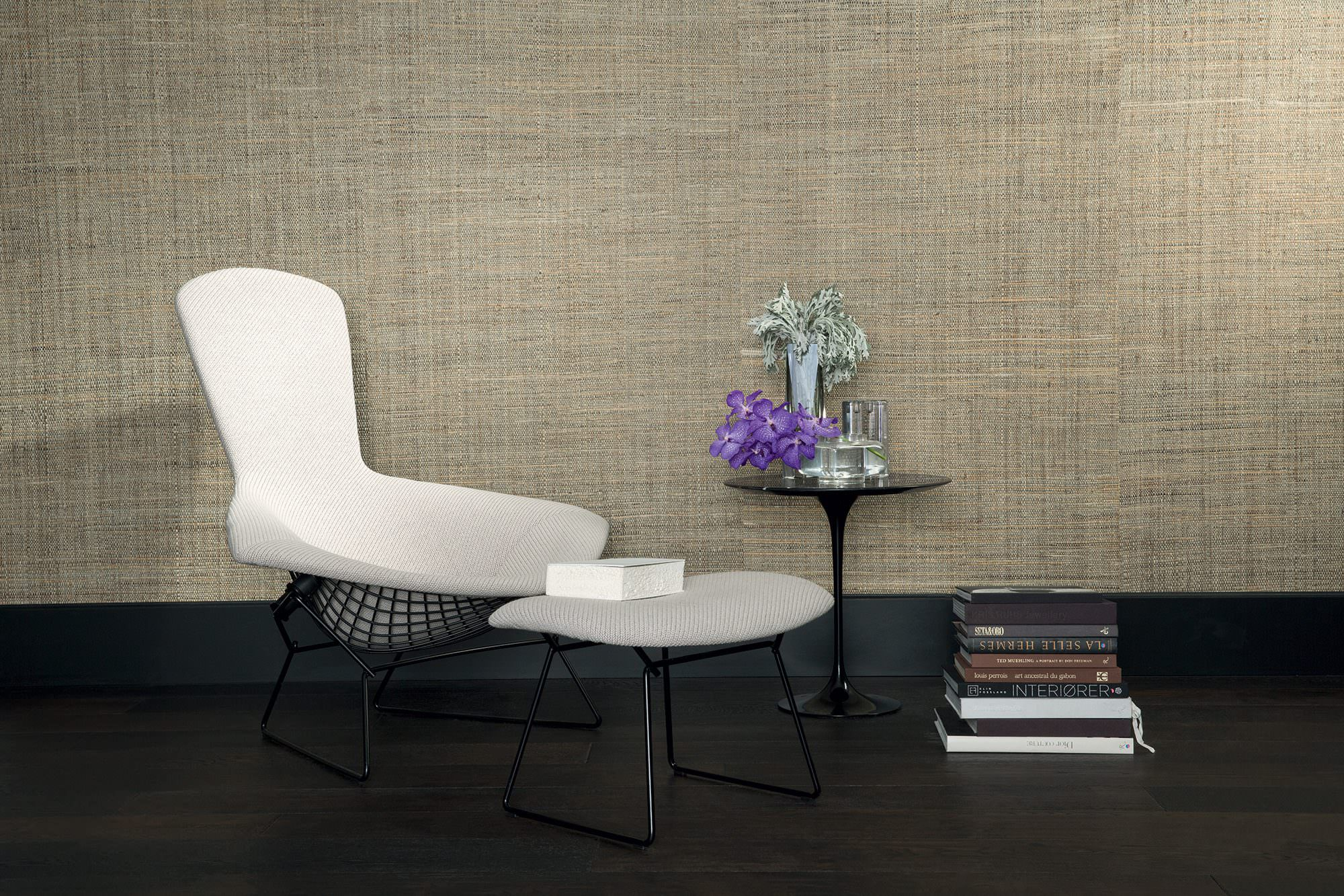 raphia feuilles de bananier galet. Black Bedroom Furniture Sets. Home Design Ideas