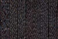 Raphia tressé noir