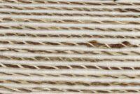 Abaca torsadé Blanc