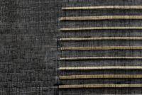 Lignes d'abaca noir