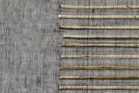 Lignes d'abaca anthracite