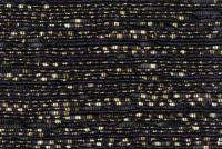 Papier torsadé noir -or